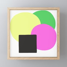 Summer Equilibrium Framed Mini Art Print