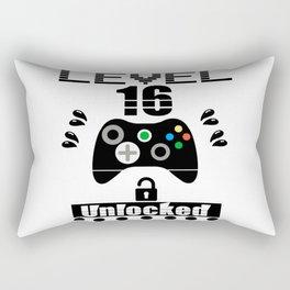 LEVEL 16 UNLOCKED Rectangular Pillow
