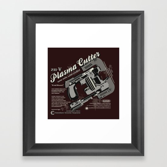 Dead Space - Plasma Cutter Framed Art Print