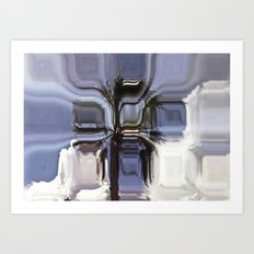 Abstract tree Art Print
