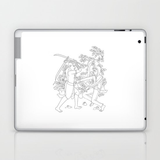 Daab Song Meu Laptop & iPad Skin