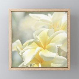Na Lei Pua Melia Aloha e ko Lele Framed Mini Art Print