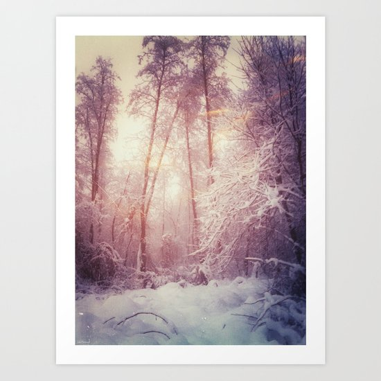 My magic forest Art Print