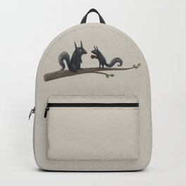 Autumn Squirrels Backpack
