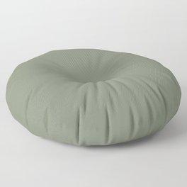 MATTE GREEN solid color Floor Pillow