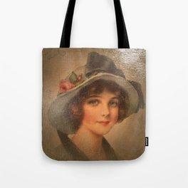 Vintage Lady 02 Tote Bag