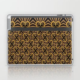 ArtDéco gold Laptop & iPad Skin