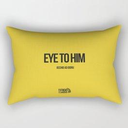 OCCHIO AD IDDRU Rectangular Pillow