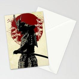 samurai redmoon Stationery Cards