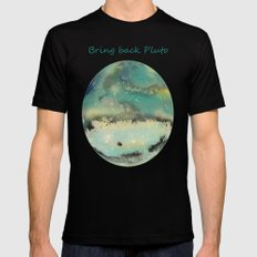Postcards From Pluto 2 Black X-LARGE Mens Fitted Tee