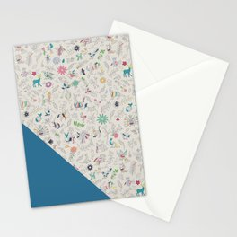 Pez Otomi ultramarine by Ana Kane Stationery Cards