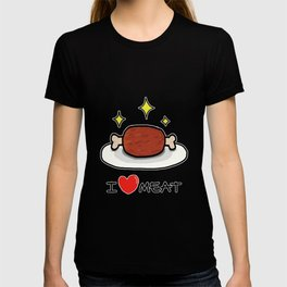 "I LOVE MEAT ""MANGA"" T-shirt"