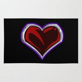 """""""Sacred"""" Heart Emblem Rug Rug"""