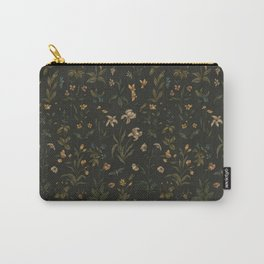 Old World Florals Carry-All Pouch