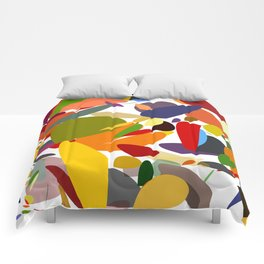 Colorful pebbles Comforters