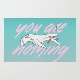 You Are Nothing Rug