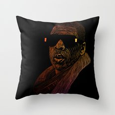 Jay-Z Color Throw Pillow