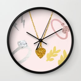 Jewellery Wall Clock