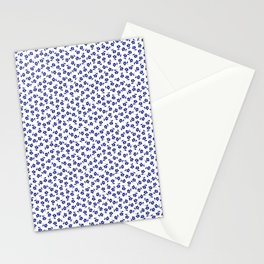 Forget Me Nots - Blue on White Stationery Cards