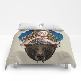 Goldilocks, Viking Bear Hunter Comforters
