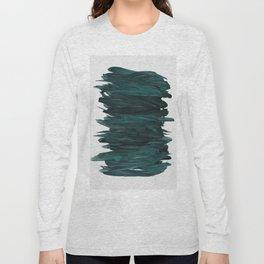 Abstract Minimalism #3 #minimal #ink #decor #art #society6 Long Sleeve T-shirt