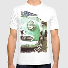 Chevrolet beauty Mens Fitted Tee MEDIUM White