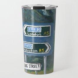 Watling Street Roman Road Travel Mug