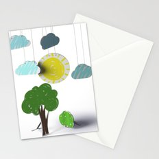Sunny Day 3D Paper Craft Stationery Cards