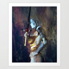 The Sword of Light Art Print