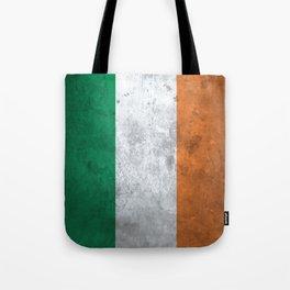 Distressed Irish Flag Tote Bag