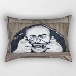 Tel Aviv Street Art Rectangular Pillow
