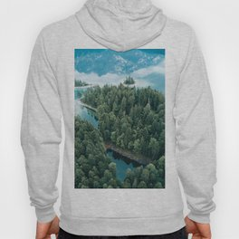 Mountain in a Lake - Landscape Photography Hoody