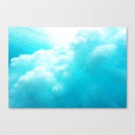 Underwater Explosion Canvas Print