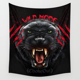 Wild Mode. Bjj, Mma, grappling Wall Tapestry