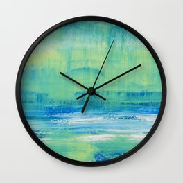 Sunday Mornings Wall Clock