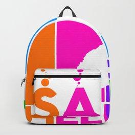 saint-helena Colorful Bubbles Backpack