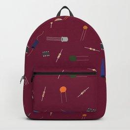 Circuit Elements - Maroon Backpack