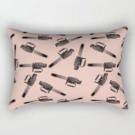 Chainsaw pattern / horror pattern / horror / macabre Rectangular Pillow