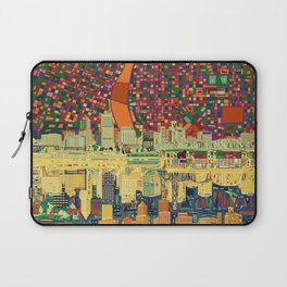 portland city skyline Laptop Sleeve