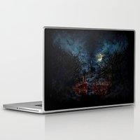 castlevania Laptop & iPad Skins featuring Castlevania: Vampire Variations- Gates by LightningArts