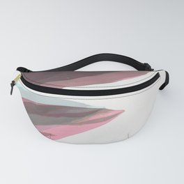 Ghost Leaves Fanny Pack