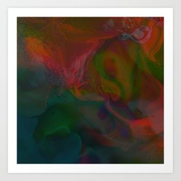 Abstract: lucid dream Art Print