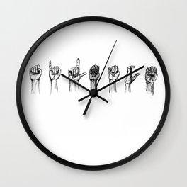 s i l e n c i o Wall Clock