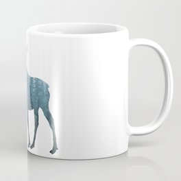 Misty Forest Moose Coffee Mug