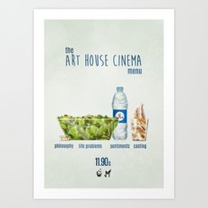 Art House cinema Art Print