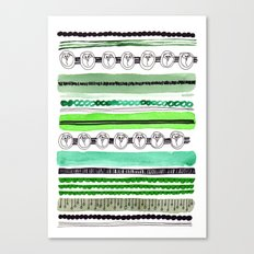 Pattern / Nr. 4 Canvas Print