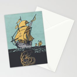 The Secrets of the Sea Stationery Cards