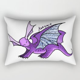 Baby Dragon Rectangular Pillow