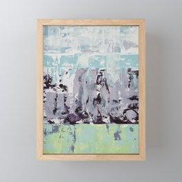 Lavender Landscape Framed Mini Art Print