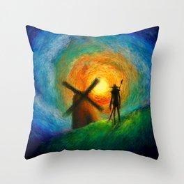 EL QUIJOTE Throw Pillow